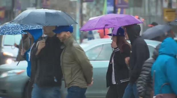 В Торонто ожидаются обильные осадки