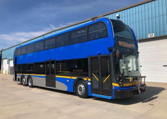 Двухэтажные автобусы появятся на дорогах Ванкувера в октябре