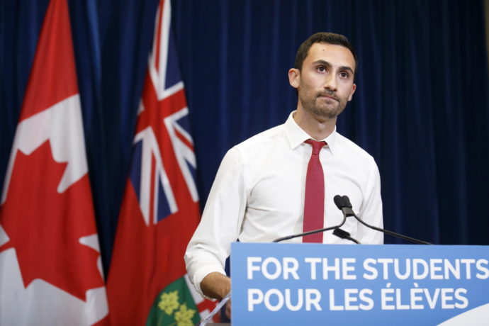 Учителя в Онтарио бастуют