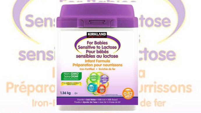 Costco: в детской смеси обнаружена опасная бактерия