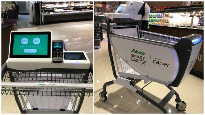 В Канаде появились «умные тележки», считывающие товар в супермаркете