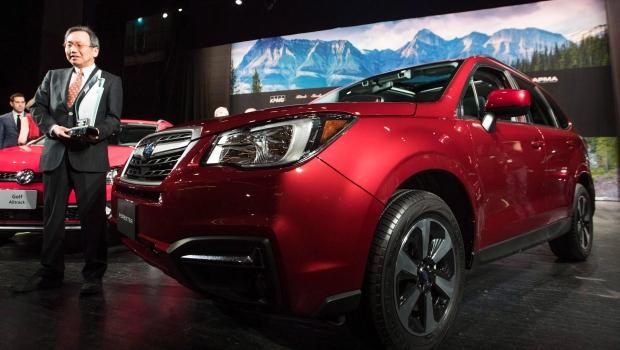 Subaru отзывает 350 000 машин Forester на ремонт