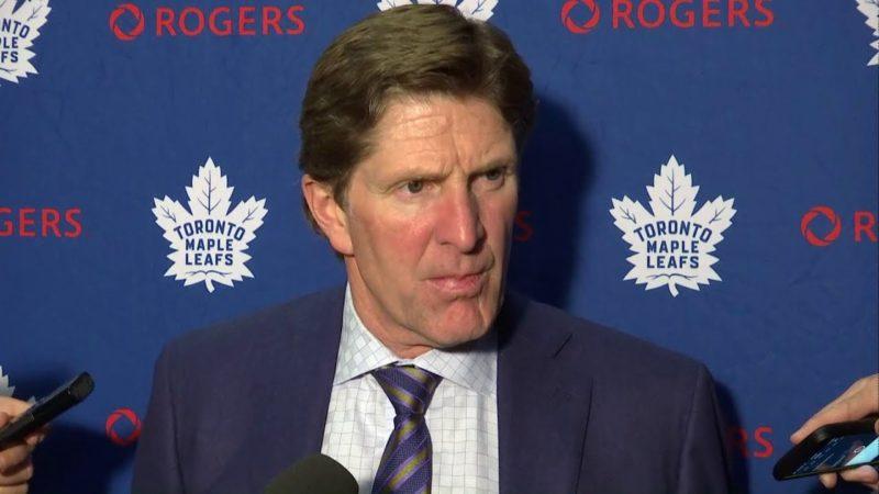 Toronto Maple Leafs: победа после смены тренера