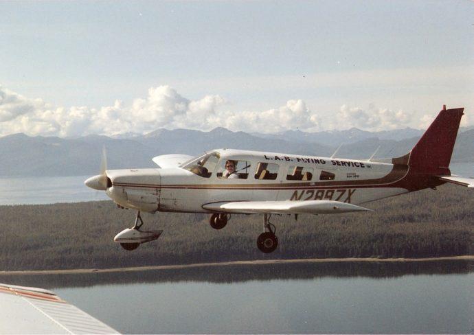 В Кингстоне упал шестиместный самолет