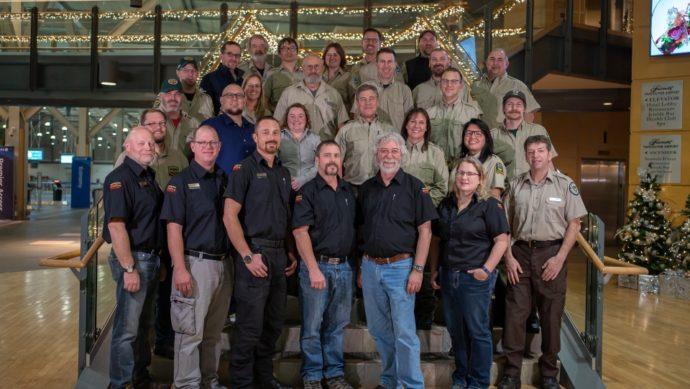 Канадские добровольцы помогают пожарным в Австралии