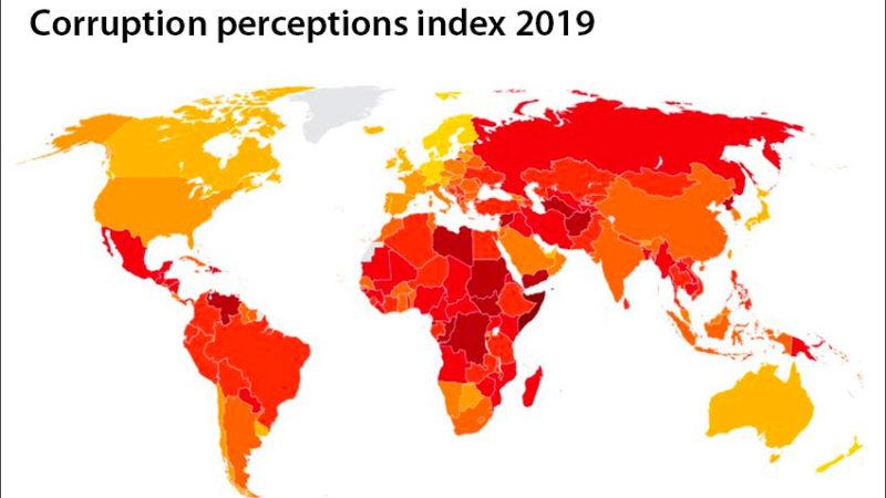 Коррупция: Канада на 12 месте