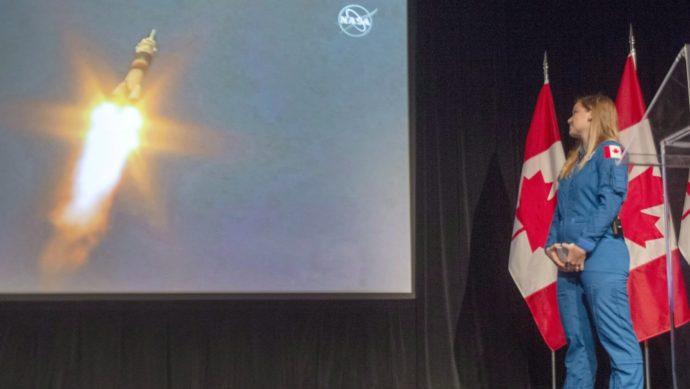 Канадцы закончили первый этап обучения в школе астронавтов