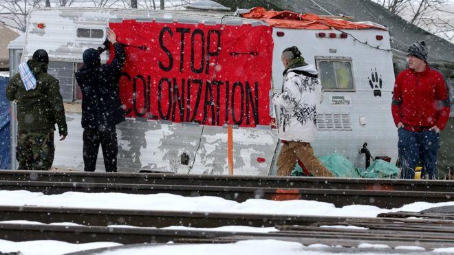 Железнодорожная блокада: «мы хотим ударить побольнее»