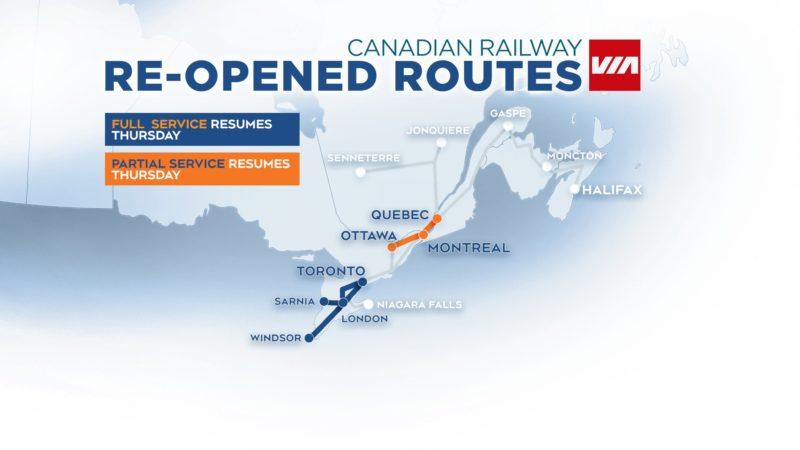 «Дождались». Временные увольнения на канадской железной дороге