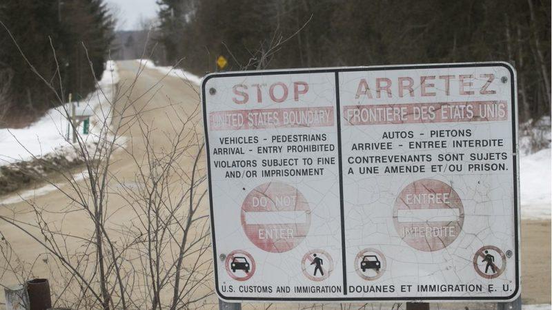 Границы с США закрыты, но не для беженцев