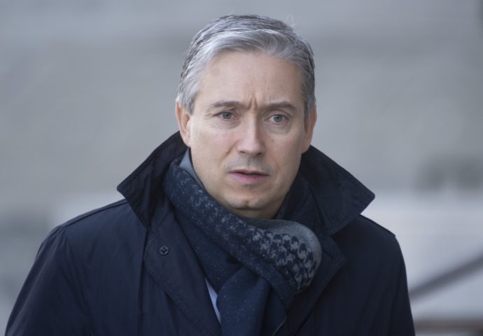 Министр иностранных дел Канады на карантине