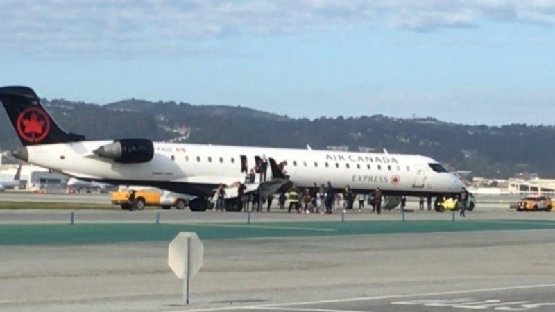Самолет Air Canada вернулся из-за срабатывания индикатора дыма