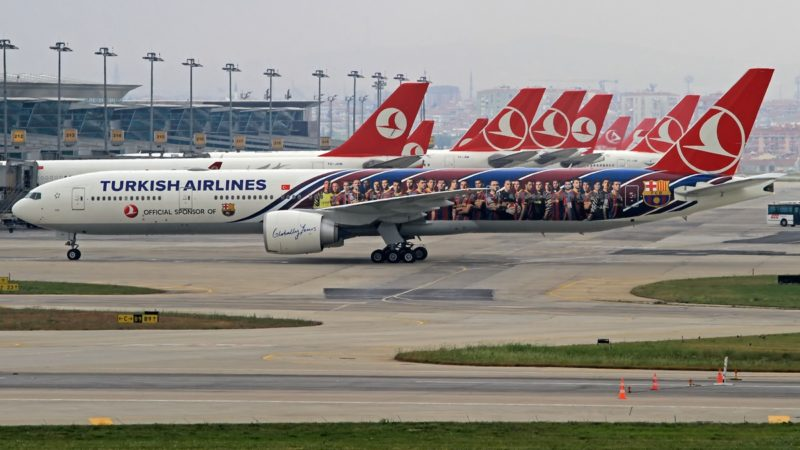 Turkish Airlines в Канаду не летает