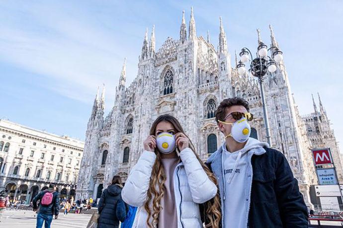 Канада предупреждает: не ездите на север Италии