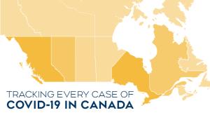 Обновляемая статистика распространения коронавируса в Канаде