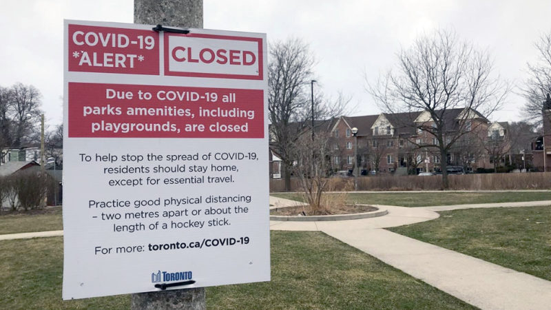 За пикники и гуляния в Торонто будут наказывать