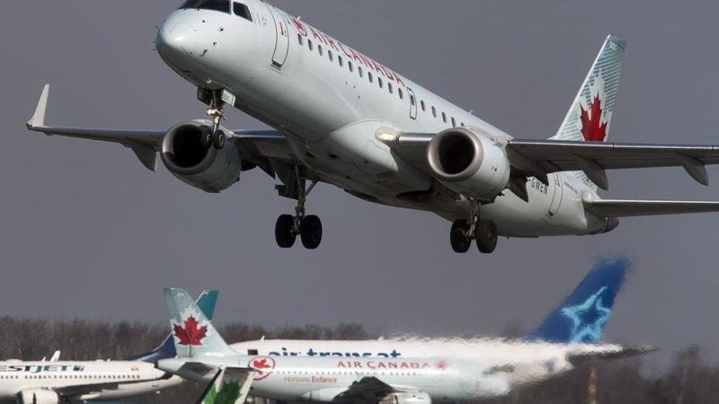 Air Canada и другие авиакомпании прекращают международные рейсы