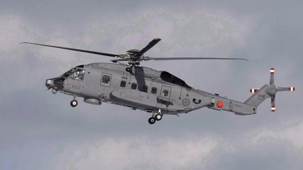 В упавшем канадском вертолете находилось шесть человек