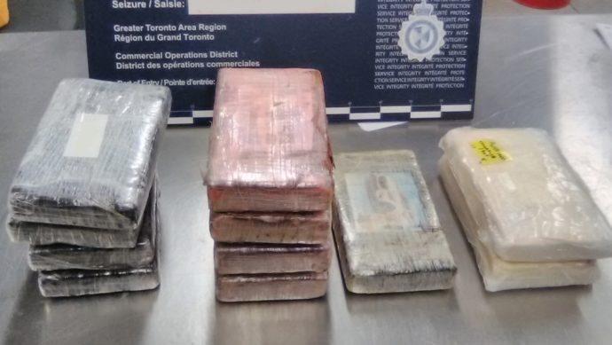 Пирсон: за неделю изъято наркотиков на три миллиона