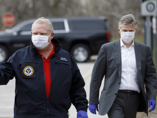 Три этапа, «три составляющих» выхода из коронавирусного кризиса в Онтарио