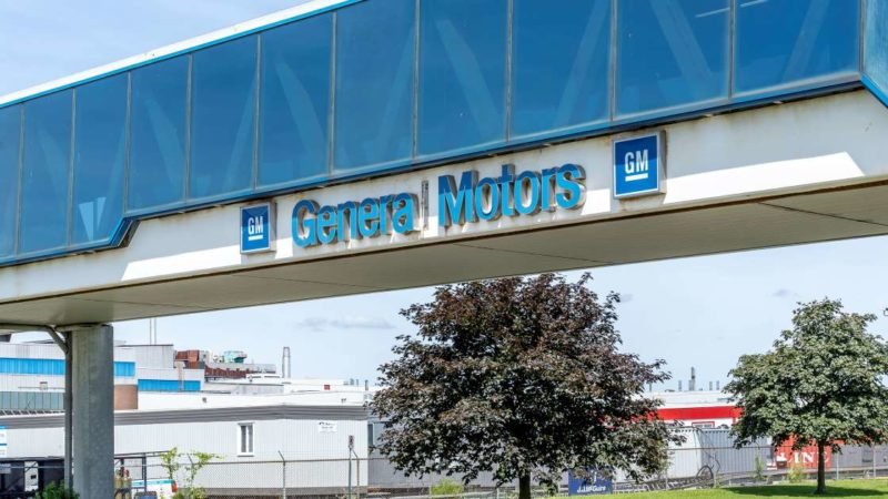 General Motors: защитное оборудование вместо машин