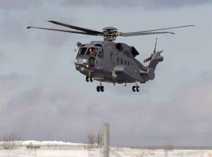 Канадский вертолет пропал в Средиземном море