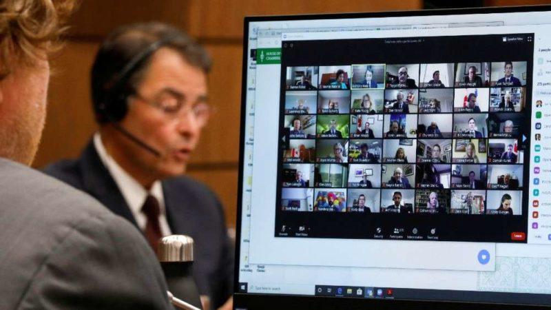 Виртуальный парламентский блин комом... в Канаде