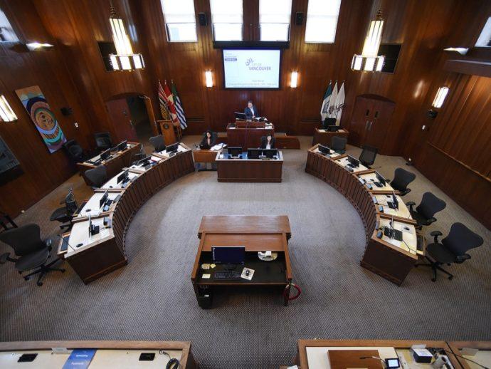 Ванкуверский муниципалитет: заседание на фоне воды в унитазе