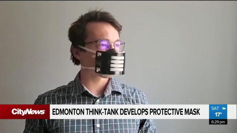 В Эдмонтоне сконструировали новые многоразовые маски