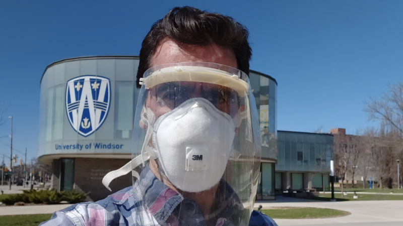Канадский университет разработал маски против коронавируса