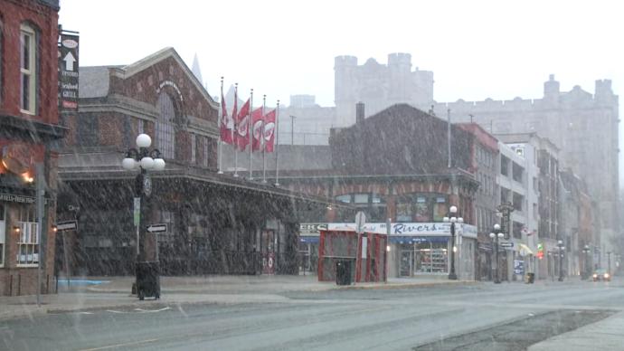 Оттава несколько часов была самой холодной в мире столицей