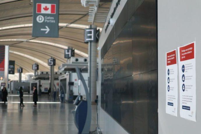 Международный аэропорт Торонто: ни проводить, ни встретить