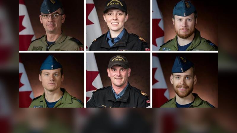 Шестеро канадских военных погибли в крушении