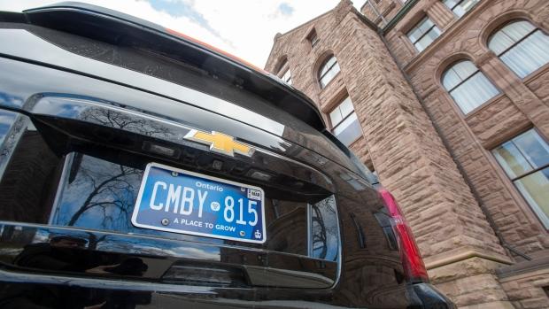 Новые синие номерные знаки в Онтарио больше не выдают