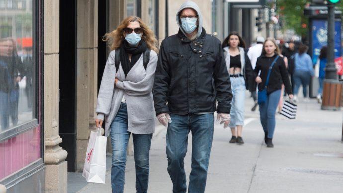 Ношение масок в монреальском боро становится обязательным