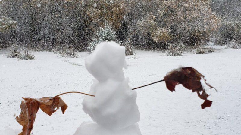Соскучились по снегу?