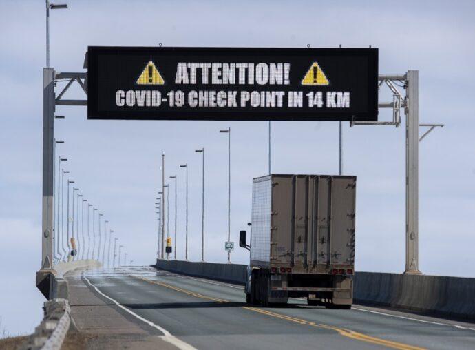 Канадская граница на замке... до 21 декабря
