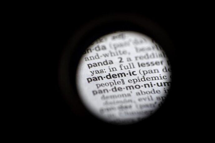Самое популярное английское слово 2020: pandemic