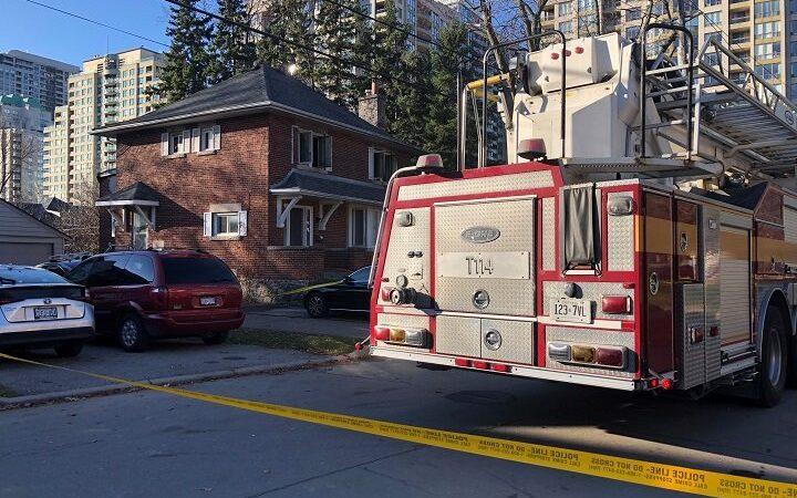 Пожар в Норс-Йoрке: один человек погиб