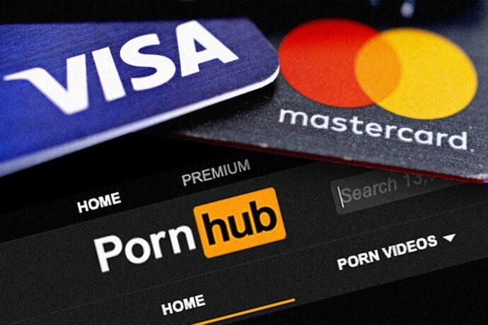 За просмотр сайта PornHub нельзя расплатиться картой Mastercard