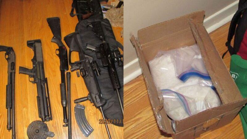 Рекорд полиции: 65 стволов и наркотиков на $18 миллионов