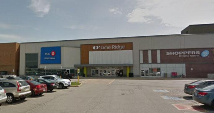 Торговый центр работает дольше «за границей» зоны локдауна