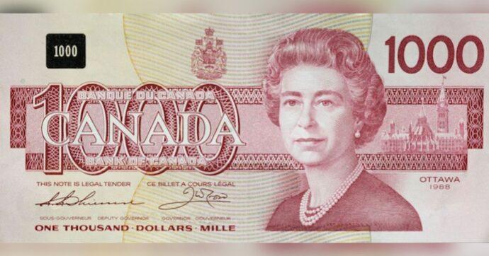 Если у вас есть канадская банкнота в $1000...