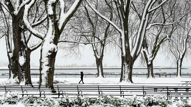В ночь на Рождество в Торонто ожидается дождь и снег