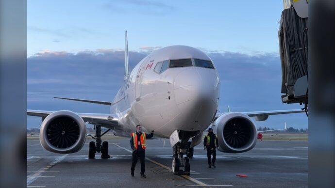 Рейс Boeing 737 MAX8 из Калгари в Торонто отменили