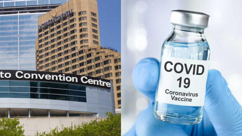 В центре Торонто можно будет сделать прививку от COVID-19
