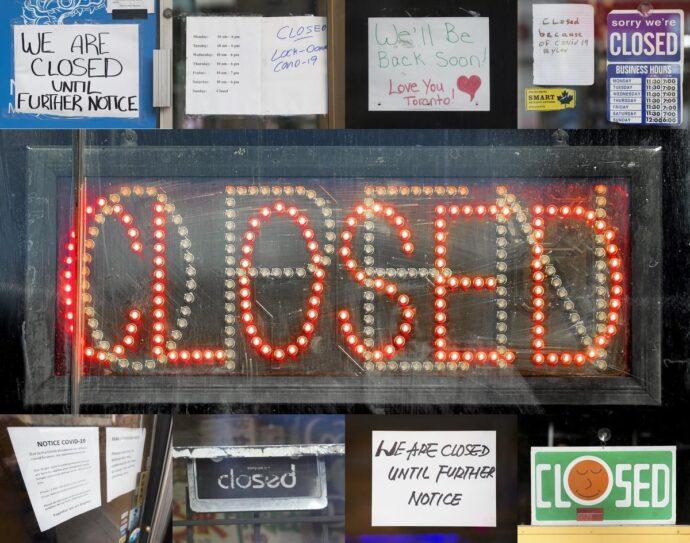 Пандемия COVID-19 ведет к катастрофе малого бизнеса