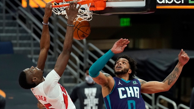 Toronto Raptors одержали третью победу в сезоне