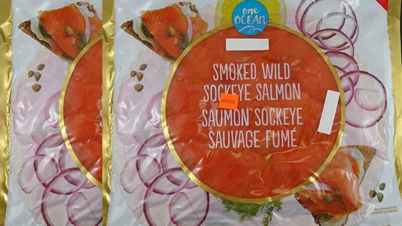 Нехороший лосось изъят из продажи