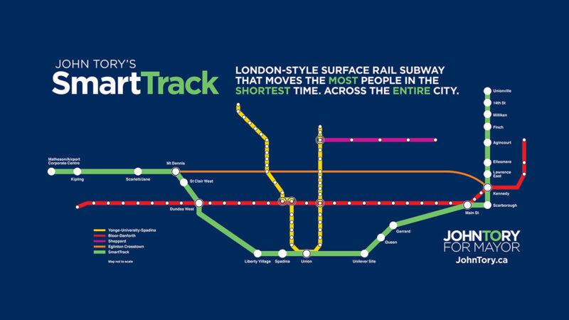 Транспортный проект мэра Торонто сильно изменился